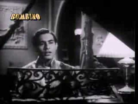 YEH RAAT SUHANI RAAT NAHI TALAT - MAHMOOD DIL- E- NADAN [1953] - Superhit Old Song
