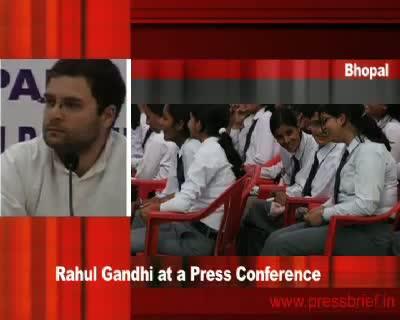 Rahul Gandhi in Bhopal (Part 2), 19th January 2010