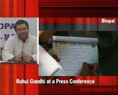 Rahul Gandhi in Bhopal (Part 5), 19th January 2010