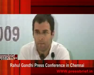 Rahul Gandhi in Chennai (03),10 Sep 2009