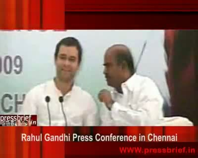 Rahul Gandhi in Chennai (04),10 Sep 2009