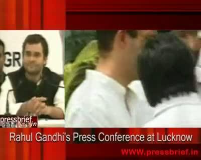 Rahul Gandhi in Lucknow Part II, 08th December 2009