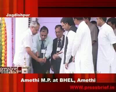 Rahul Gandhi in Bhel Amethi 17th Aug 2009