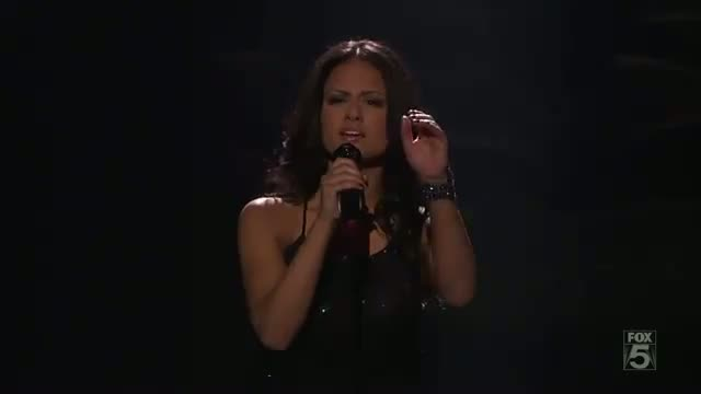 Pia Toscano I'll Stand By You -- American Idol Top 24