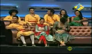 Vaishnavi and  Ruturaj dance act  Dance Ke Superstars 6th May 2011