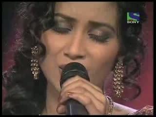 Shreya Ghoshal's divine singing on Lag Ja Gale-     X Factor India - Episode 19 -   (16th Jul 2011)