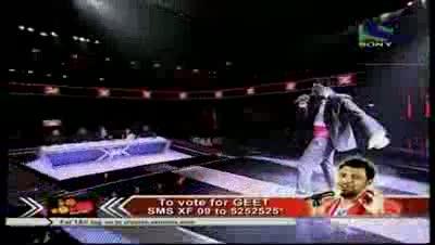 Geet Sagar's wicked concert on Bachna Ae Haseeno- X Factor India - Episode 30 - 26th Aug 2011