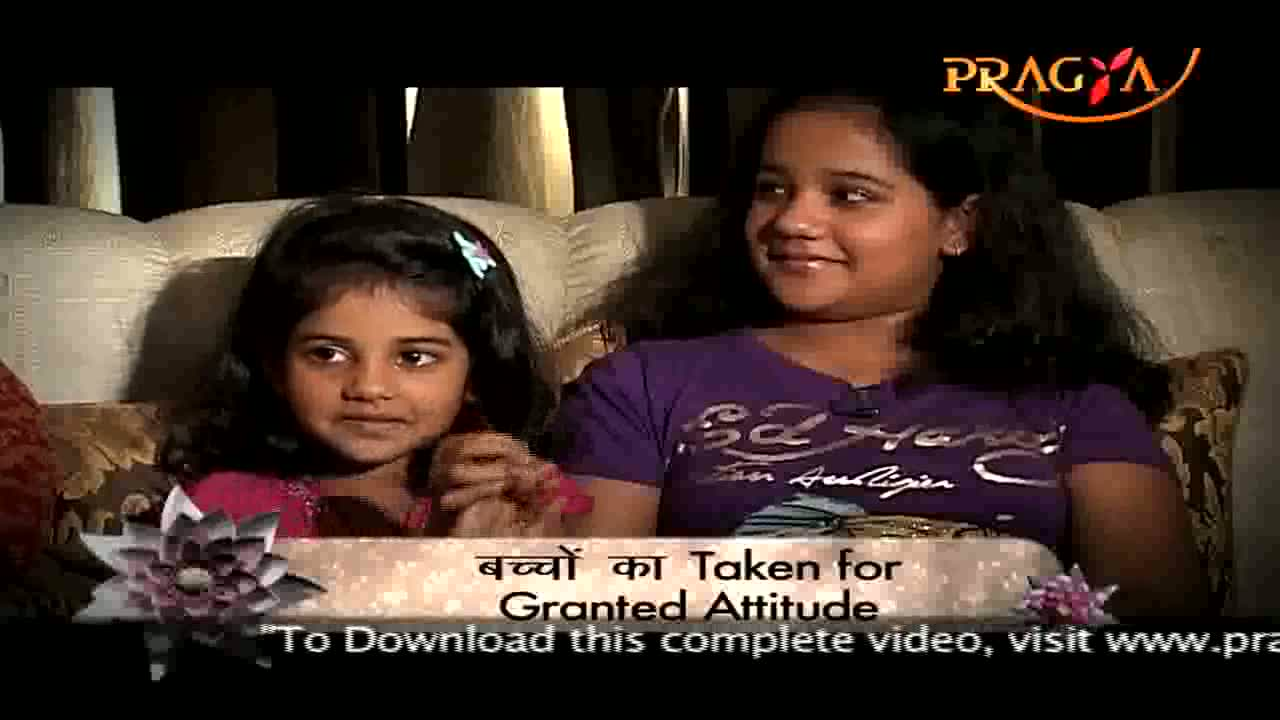 Parents Ki Pathshaala-Developing Gratitude