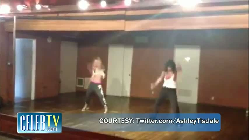 Ashley Tisdale and Vanessa Hudgens Dance to Beyonce
