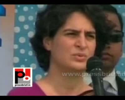 Priyanka Gandhi in Inhauna, Tiloi, 5 th Feb. 2012