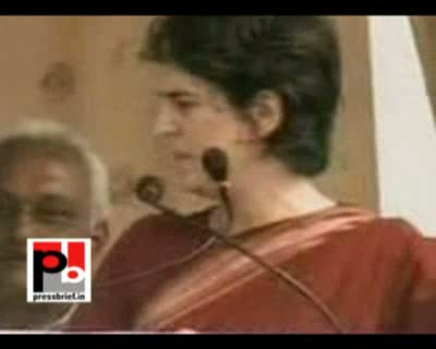 For the first time for the campaign for UP assembly polls Priyanka Gandhi Vadra attended an election rally along with her mother and Congress President Sonia Gandhi in Raebareli. Raebareli is the parliament constituency of Sonia Gandhi.