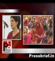 This election is a challenge to determine your future of the people and the state said Priyanka Gandhi Vadra in Sadar (Raebareli). She was speaking at an election meeting at the Sadar assembly segment of Raebareli, the Parliament constituency of her mothe