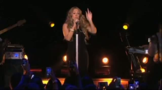 Mariah's First Post-pregnancy Performance