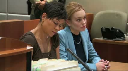 Lindsay Lohan in Court video