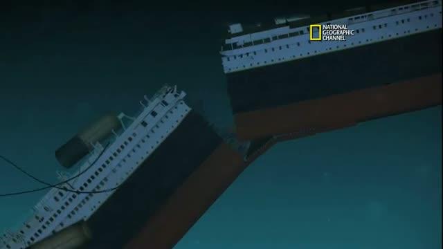 Titanic 100 - New CGI of How Titanic Sank video