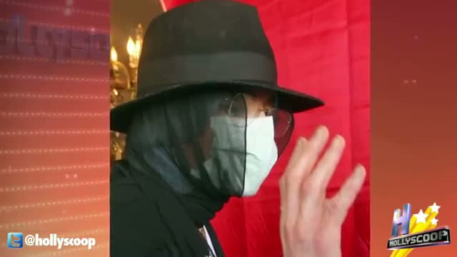 Michael Jackson's Black Surgical Mask Auctioning For Over $20,000