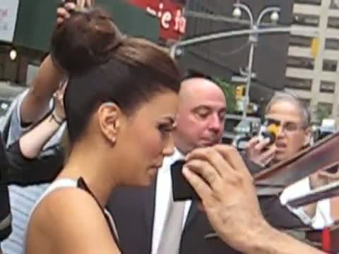 "Eva Longoria Leaving for The ""Late Show with David Letterman"""