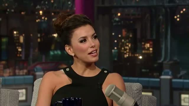 David Letterman - Eva Longoria: Desperate No More