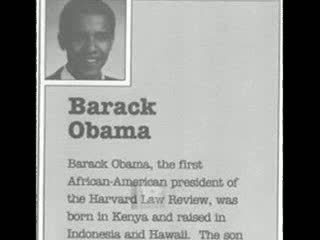 'Obama was born in Kenya and raised in Indonesia and Hawaii': President's OWN literary agency  promotional booklet from 1991 claims he WAS born in Africa