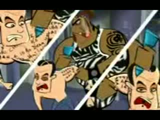 Aamir Khan Ghajini - funny animation