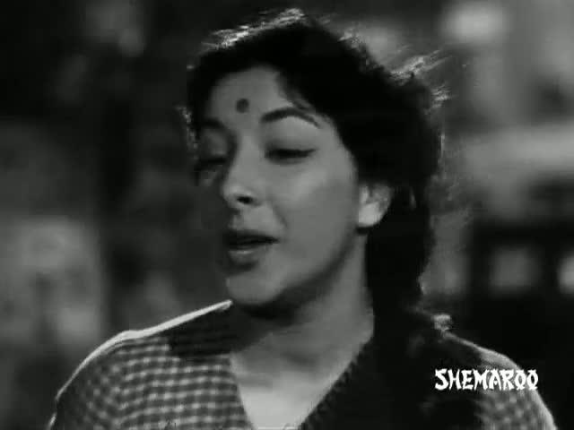 Ichak Dana Bichak Dana Dane Upar - Shree 420 (1955) - Mukesh & Lata Mangeshkar