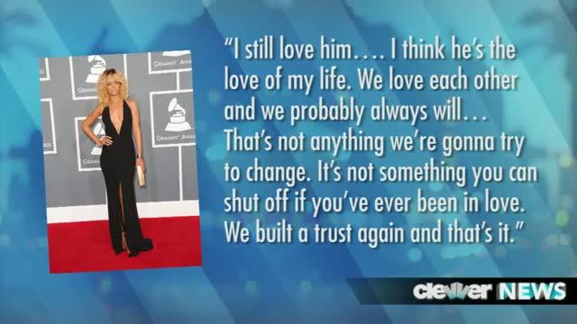 Rihanna, Chris Brown Share VMA Embrace