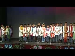St. Xavier Delhi - Music Fest 2012 - Hindi Group Song - Tu Na Jaane Aas Paas Hai Khuda - Junior Students