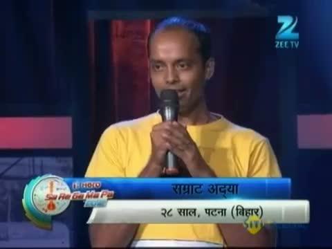 Sa Re Ga Ma Pa 2012 - Samrat Entertains Judges - 7th October 2012