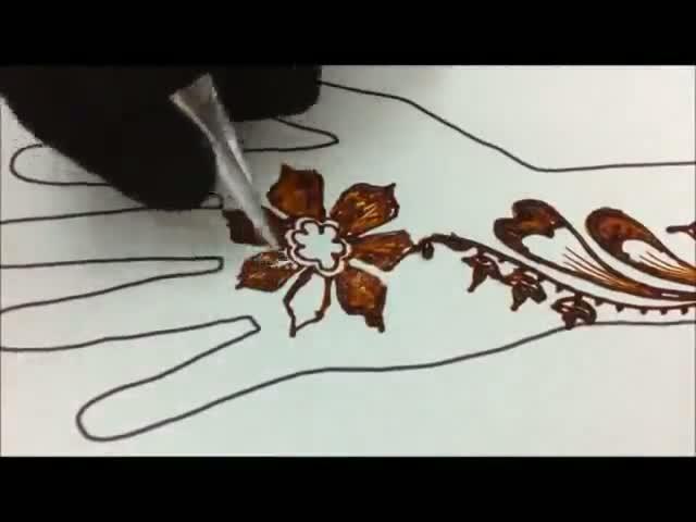 Mehndi Design For Diwali - Diwali Mehndi Design