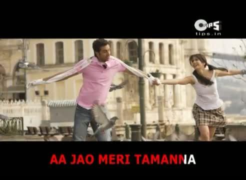 Aa Jao Meri Tamanna with Lyrics - Ajab Prem Ki Ghazab Kahani - Ranbir Kapoor & Katrina Kaif