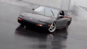 Nissan 180SX Drift Fail