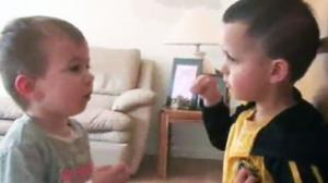 Little Kid Stands Up Against Little Bully
