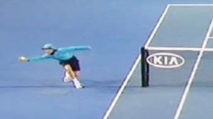 Ballboy Makes Amazing Catch At Australian Open