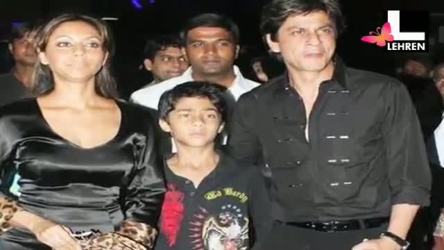 SRK Is Monster For His Kids