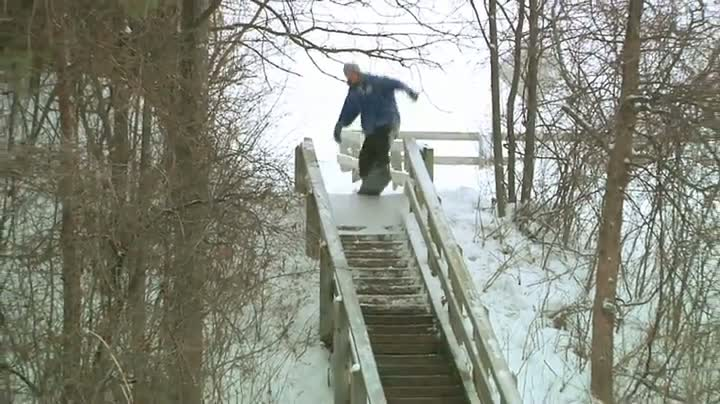 Dylan Thompson Is One Sick Snowboarder