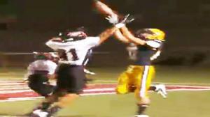 Amazing High School Football Catch