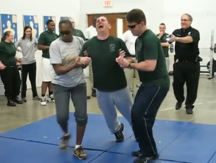 Cadet Cries Before and After Being Tasered