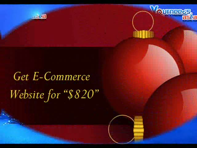 Yourneeds.asia  offering  Web site Designing and Development for Classified Web Sites At $455 and E-Commerce Sites At $820/-
