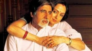 Main Yahan Tu Wahan (Full Video Song) - Baghban - Amitabh Bachhan & Hema Malini