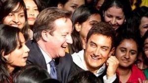 Aamir Khan meets British Prime Minister David Cameron