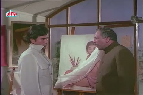 Tanuja's Father against Rajesh Khanna's love for her - Mere Jeevan Saathi (1972)