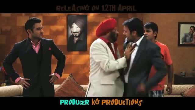 Saalion Tuhada Kithe Vi Veha Na Hove ( Promo ) - Daddy Cool Munde Fool ( Releasing 12 April 2013 )