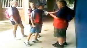 Fat Kid Gets Revenge on Bully