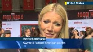 Gwyneth Paltrow named 'World's Most Beautiful Woman of 2013' by People magazine