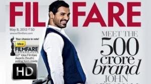 John Abraham Goes Funky On Filmfare Cover
