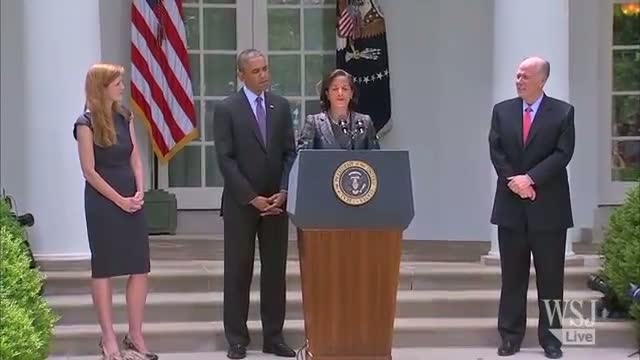 Susan Rice to Succeed Donilon as Obama's NSA