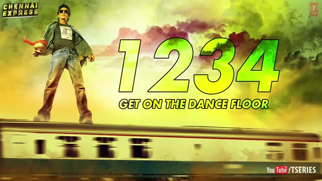 One Two Three Four (1234) - Chennai Express [Full Song] - Shahrukh Khan & Deepika Padukone