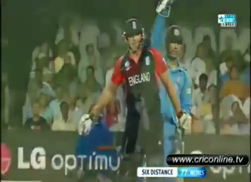 Last 5 overs Drama of India vs England Tie Match of World Cup 2011