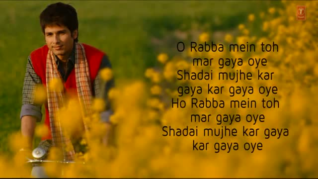 Rabba Mein Toh Mar Gaya Oye Lyrical Video - Mausam - Shahid kapoor & Sonam Kapoor