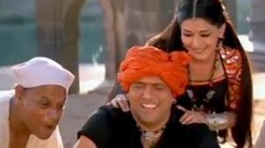 Govinda Body Massage (Comedy Scene) - Jis Desh Mein Ganga Rehta Hai - Sonali Bendre